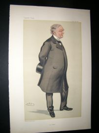 Vanity Fair Print 1880 William James Erasmus Wilson, Architect